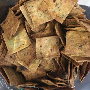 crackers tomate basilic